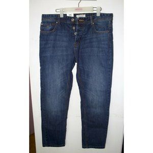 Threadbare Mens Jeans Slim Fit Button Fly